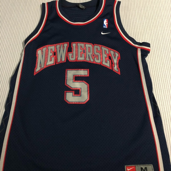 newest 3e49d 10f97 New Jersey Nets Jason Kidd Jersey